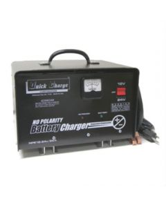 Quick Charge 25 Amp No Polarity Charger 6V / 12V