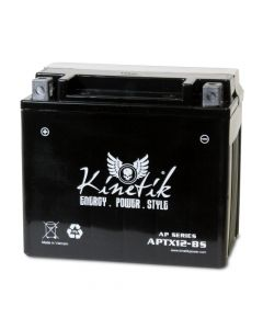 UPG's Kinetik APTX12-BS Replaces Yuasa YTX12-BS