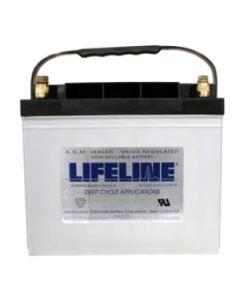 Lifeline GPL-24T - 12 Volt 80Ah Battery