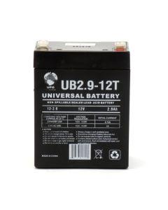 UPG UB1229T 12 Volt 2.9Ah Battery