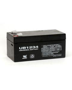 UPG UB1234 12 Volt 3.4Ah battery