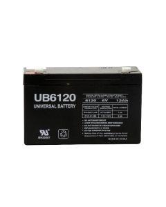 UPG UB6120-F1 6 Volt 12Ah Battery