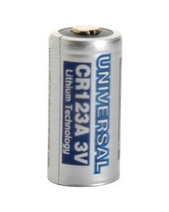 12 Universal CR123A Lithium Photo Batteries