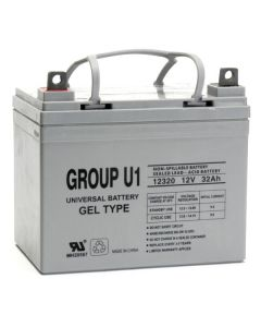 UPG U-1Gel 12 Volt 32Ah Battery