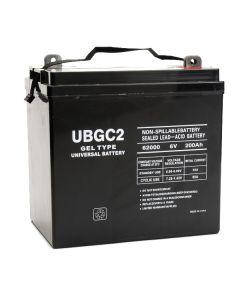 UPG UB-GC2 Gel 6 Volt 200Ah Battery
