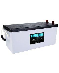 LifeLine GPL-4DL AGM Deep Cycle Marine Battery
