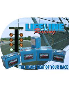 Lifeline LL161240TB 3 Post 12V-16V 57Ah Battery