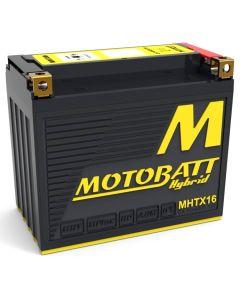 MotoBatt MHTX16 Hybrid AGM Lithium Battery Profile