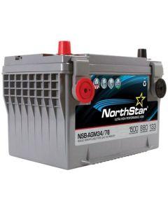NSB-AGM34-78 Pure Lead Battery