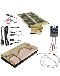 Global Solar SUNLINQ 7 60 Watt Desert Camo Foldable Solar Panel P3-60 Kit