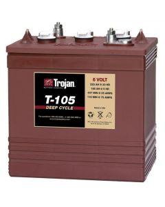 Trojan T-105 6 Volt 225Ah Deep Cycle Battery