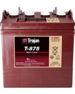 Trojan T-875 8 Volt 170Ah GC8 Deep Cycle Battery