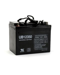UB12350-I2 (Group U1) 12V 35Ah Universal Battery