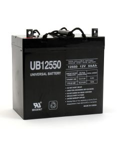 UPG UB12550-R (+ ON LEFT) 12 Volt 55Ah Battery