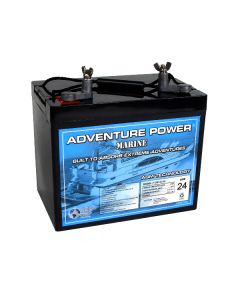 UPG UB12750-M (Group 24) 12 Volt 75Ah Battery