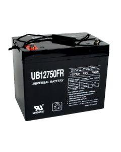UPG UB12750FR 12 Volt 75Ah Battery