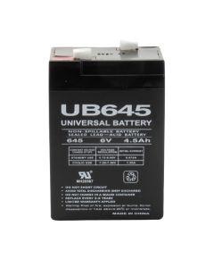 UPG UB645 6 Volt 4.5Ah Battery