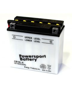 PowerSport B18L-A Replacement Battery for YB18L-A