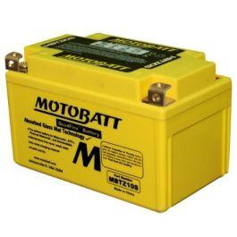 12/V 8,6/Amp MOTOBATT mbtz10s 140/Cobre Factory Activado quadflex AGM Recargable